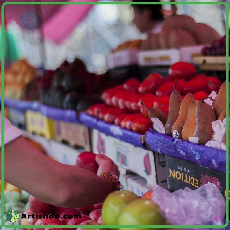 انواع محصولات ارگانیک