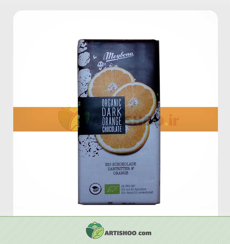 شکلات تلخ با طعم پرتقال | میبونا