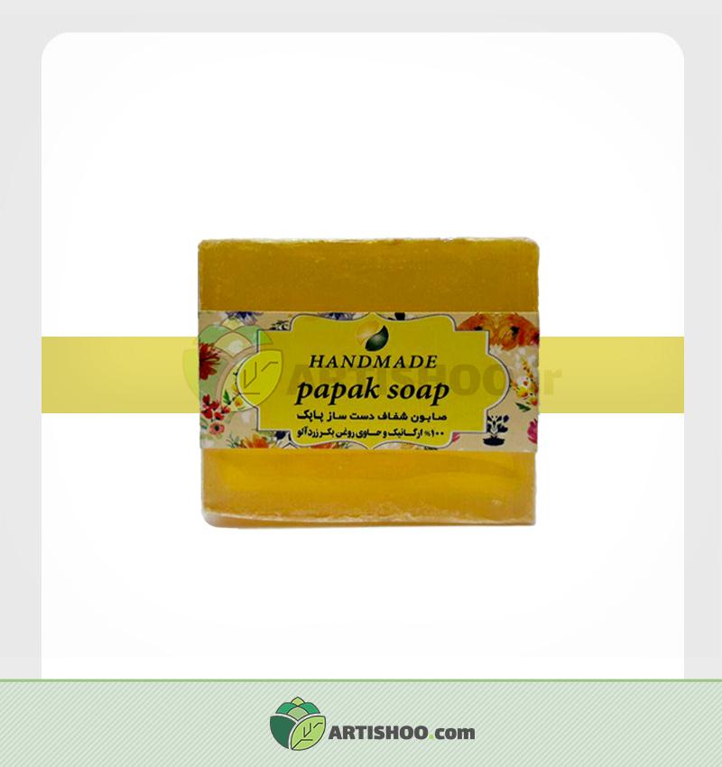صابون گیاهی پاپک | عصاره رزدآلو
