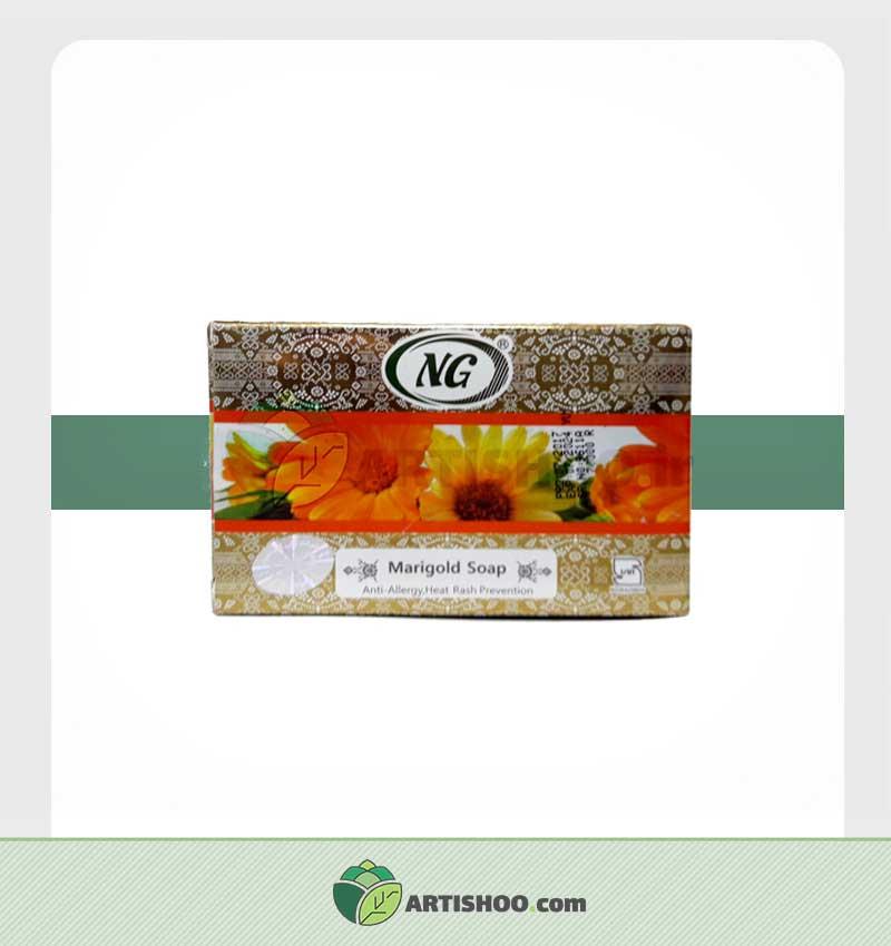 صابون گیاهی انجی | عصاره گل همیشه بهار