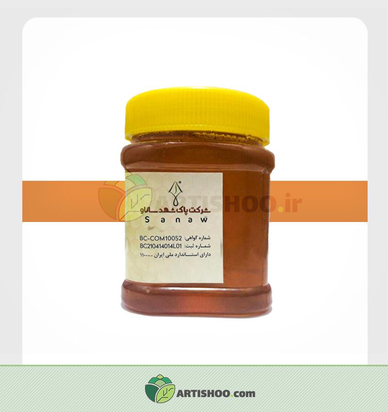عسل ارگانیک ساناو | نیم کیلو