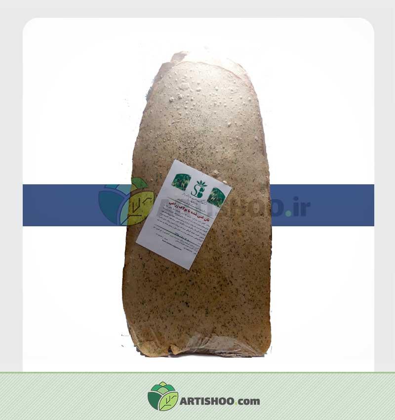 نان غنی شده با یولاف شیرین شده انگور