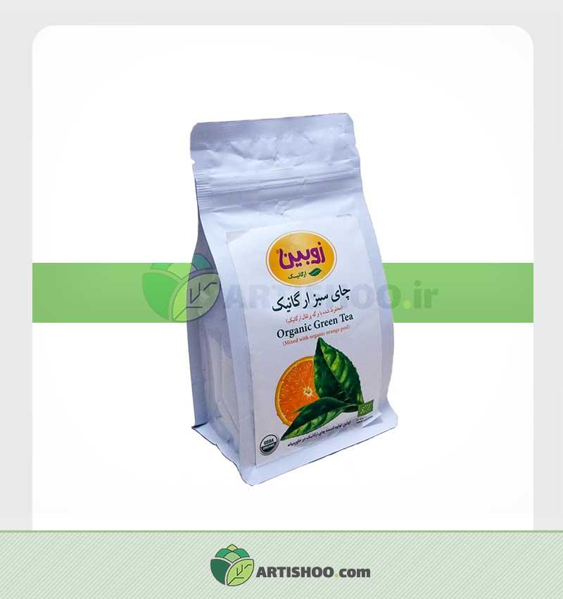 چای سبز ارگانیک | زوبین